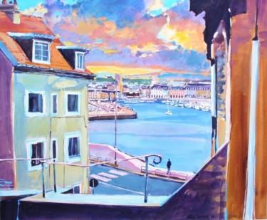 vue de Dieppe le port