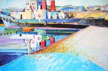 le remorqueur OBSTINE à quai Dieppe