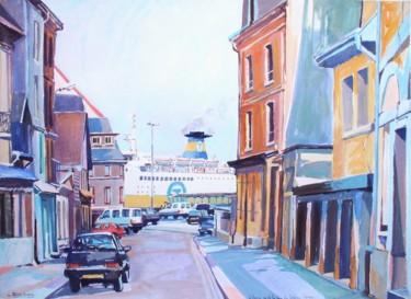 la rue des Cordiers à Dieppe