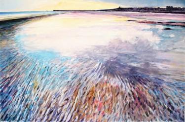 marée basse sur la plage de Dieppe