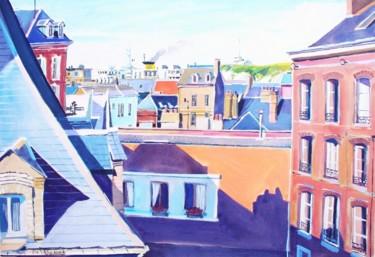 les toits de la rue Lacroix Dieppe
