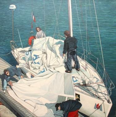 retour de mer le pliage le voilier du cvDieppe