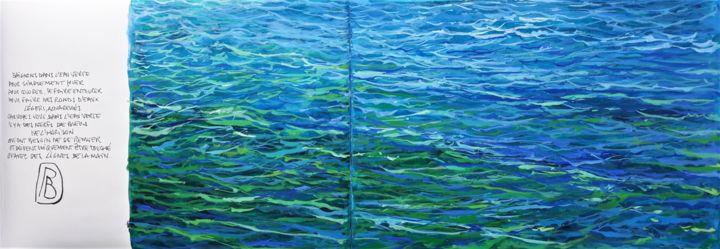 """Philippe Brobeck - """" voix d'eau 11 """""""