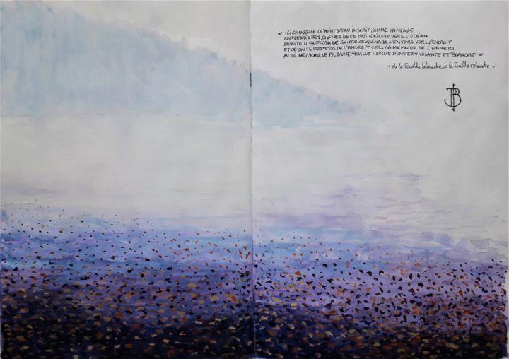 """Philippe Brobeck - """" de la feuille blanche à la feuille volante """""""