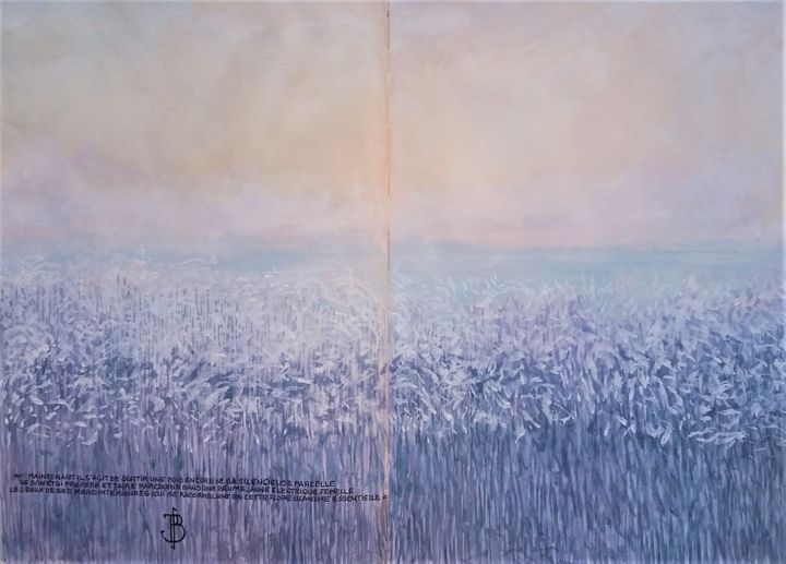 "Philippe Brobeck - "" la silencieuse parcelle """