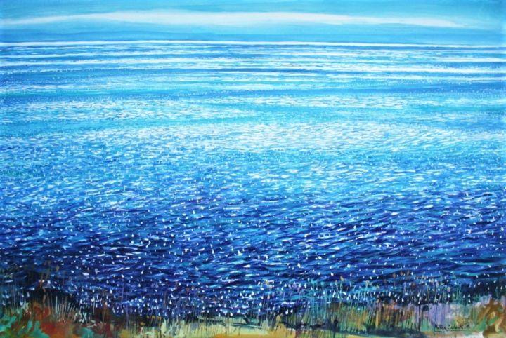 "Philippe Brobeck - "" La mer brille aux Sanguinaires """