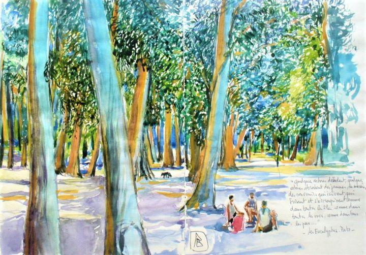 "Philippe Brobeck - "" Les eucalyptus de Porto """