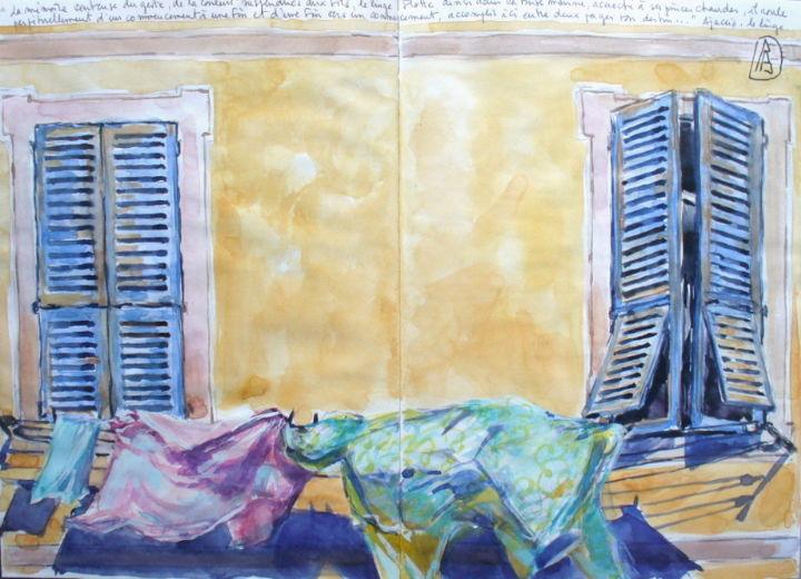 "Philippe Brobeck - "" Le beau linge ajaccien"""