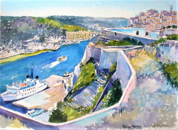 "Philippe Brobeck - ""La citadelle de Bonifacio """