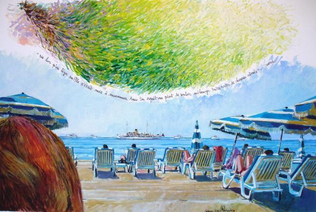 """Philippe Brobeck - """"les cheveux aimés Cannes"""""""