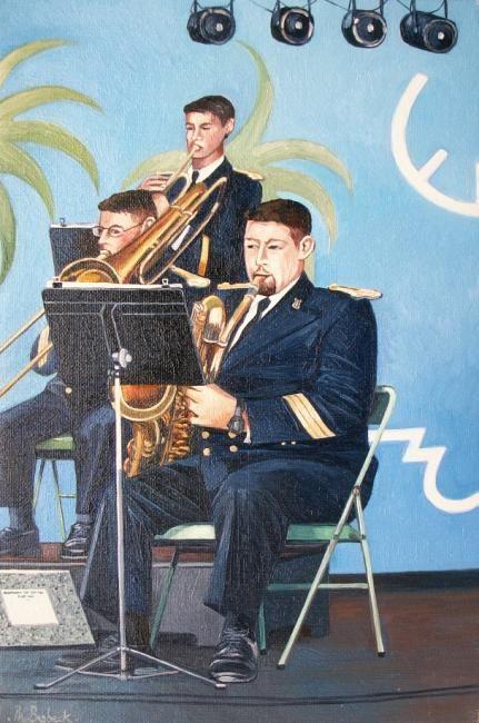 "Philippe Brobeck - ""les musiciens"""